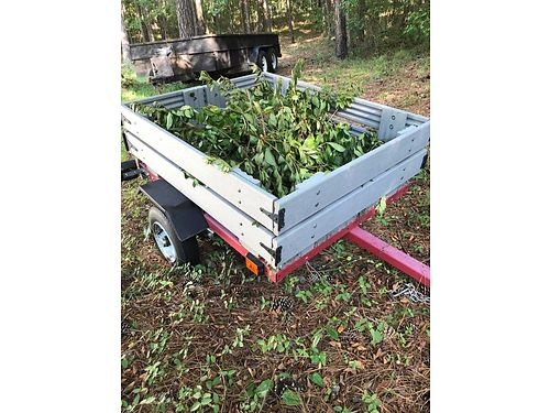 TRAILER great for garden street legal composite decking material good condition 500 obo for colo
