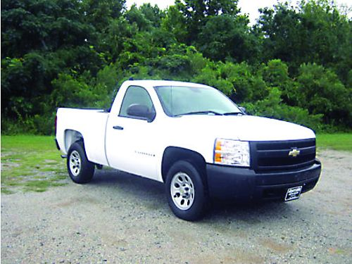 2008 CHEVY 1500 SILVERADO 2dr Reg Cab Shortbed 53 v8 87k Miles Back Rack with 2 Side Boxes B