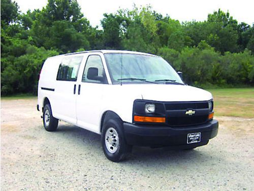 2010 CHEVY 3500 EXPRESS EXTENDED CARGO VAN 60 V8 116k Miles All Power Bulkhead Hard to Find Van