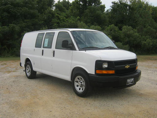 2014 CHEVY 1500 EXPRESS CARGO VAN 43 v6 All Power Bulkhead Lots of Storage Space Great on Gas