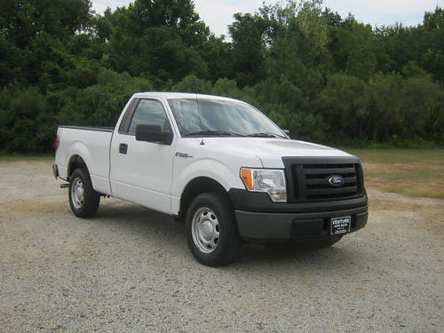 2012 FORD F150 XL 2dr Reg Cab Short Bed 37 V6 84K One Owner Very Well Maintained Extra Clean