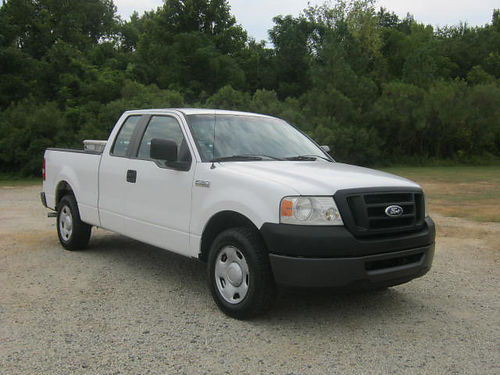2008 FORD F150 XL 4dr Ext Cab Shortbed 46 v8 Spray-In Liner Toolbox Extra Clean Only 1190