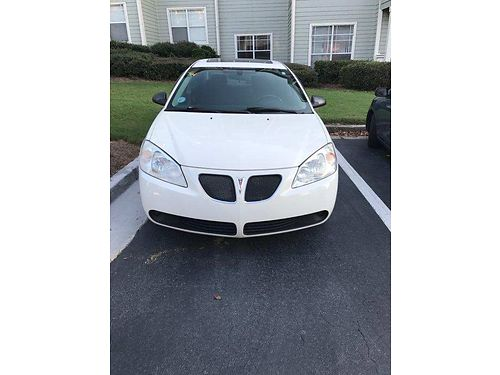 2006 PONTIAC G6 runs great looks good cold ac warm heat auto trans 190k highway miles well mai
