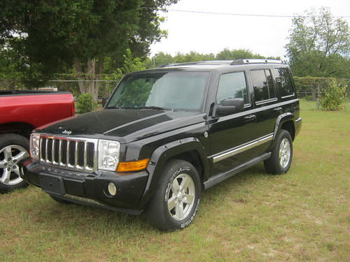 2006 JEEP COMMANDER 4Dr Auto Black 6500 762-222-6027