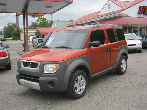 2003 HONDA ELEMENT 4Dr Auto OrangeRust 7800 800-805-7984