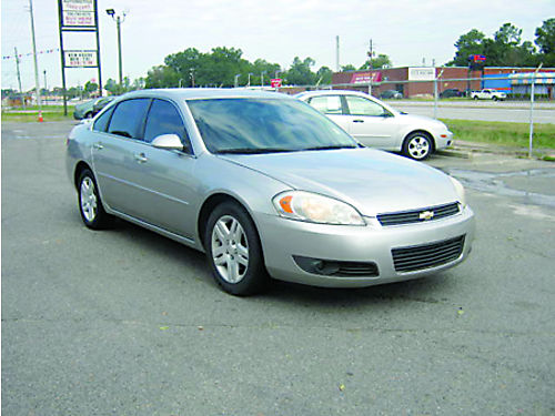 2006 CHEVROLET IMPALA LT 4dr Auto Leather 7995 Call 888-640-5901