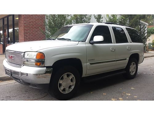 2004 GMC YUKON 168K 3rd Row SC Only 3800 803-221-6009