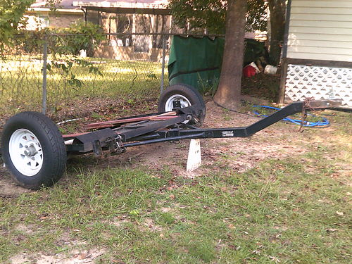 TOW dolly 2 wheel great shape newer tires with spare swivel base 500 for photos search 2978360