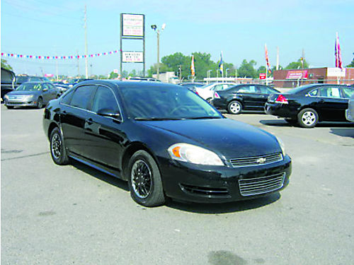 2010 CHEVROLET IMPALA 4dr Auto Black 10995 Call 888-640-5901