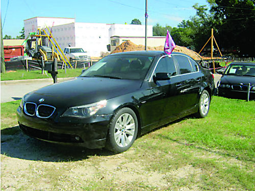 2005 BMW 545 I 4dr Auto Black V8 Sunroof Low Miles 800-805-7984