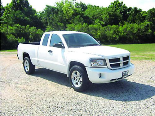 2011 DODGE DAKOTA 4dr Ext Cab Big Horn 37L V6 All Power Keyless Entry Alloys Bedliner Great