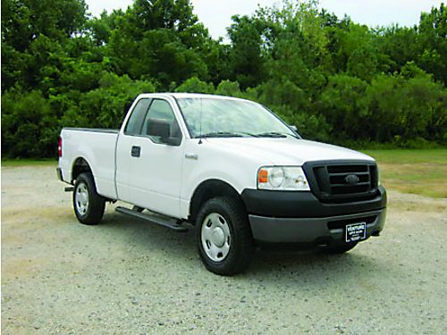 2008 FORD F150 XL 4x4 2dr Reg Cab Short Bed wAccess Door 54L V8 104k Miles Bedliner Ready t