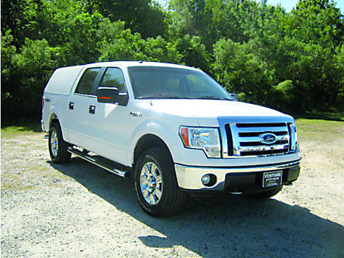2009 FORD F150 XLT 4x4 4dr Crew Cab wARE Top All Power Lots of Chrome Leather Carpet Must