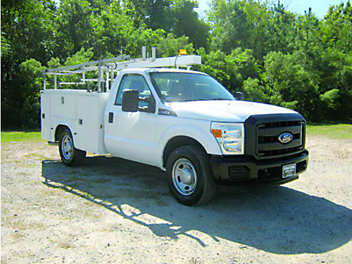 2011 FORD F350 XL 2dr Service Truck 62L V8 Knaphede Body Flip Top Large Comp Power Inverter
