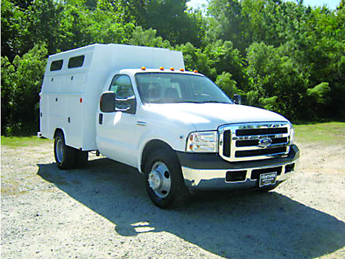 2005 FORD F350 XLT Enclosed Service Truck 32k Miles 68L V10 All Power Stahl Body DRWH Best of