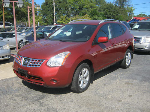 2008 NISSAN ROGUE 4dr Auto Red 6900 800-805-7984