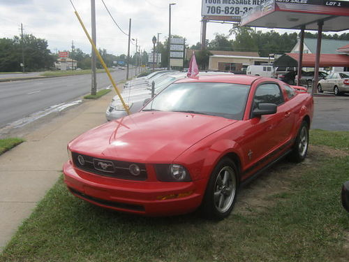 2006 FORD MUSTANG 2dr Auto Red 7200 800-805-7984