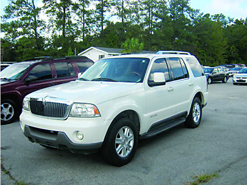 2004 LINCOLN AVIATOR 4dr Auto Leather 3rd Row 5890 888-667-8504