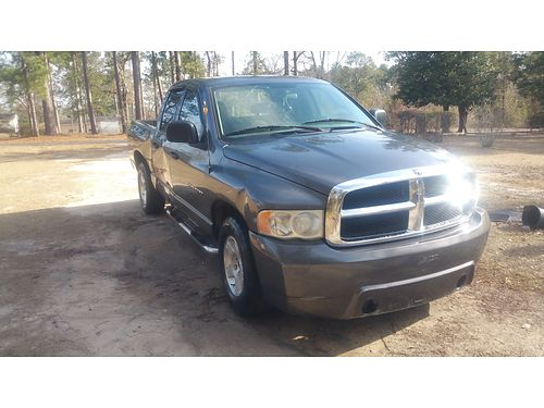 2003 DODGE RAM 1500 Crew Cab Runs Good 3200 706-306-5460