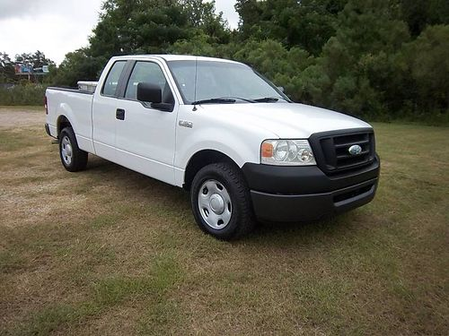 2008 FORD F150 XL Ext Cab Shortbed v8 124k Miles Spray-in Liner Toolbox Ready to Work for you