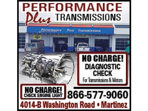 Performance Plus Transmissions is a full service Auto Repair Shop that has served the CSRA since 198