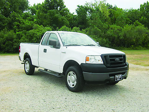 2008 FORD F150 XL 4x4 2dr Reg Cab wAccess Cab 54l V8 104k Miles Bedliner Hitch Ready for the