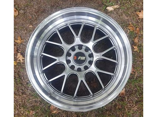 RIMS 18x 85 bolt pattern 5 lug x 110 and 112 set of 4 395