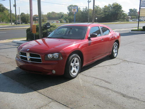 2008 DODGE CHARGER 4Dr Auto Red 3800 Cash 800-805-7984