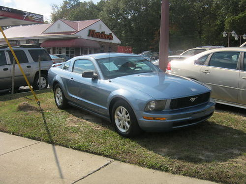 2006 FORD MUSTANG 2Dr Auto Blue 6500 800-805-7984