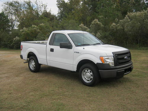 2013 FORD F150 XL 2dr Reg Cab Shortbed 49k Miles 37 v6 Auto AC 3 Toolboxes One Owner Extra