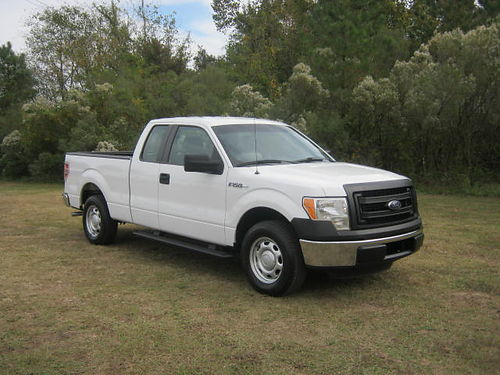 2013 FORD F150 XL 4dr Ext Cab 37 v6 61k Miles All Power CD Bedliner Hitch Super Sharp Onl