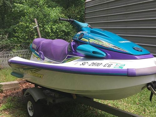 1997 YAMAHA WAVERUNNER inboard 10 4 with single trailer as is 975 local cash sales only for more