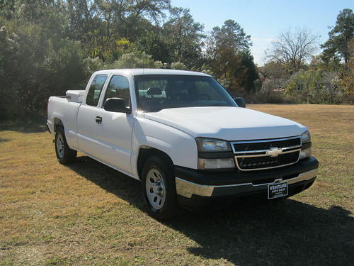 2006 CHEVY 1500 SILVERADO 4dr Ext Cab 48 V8 Shortbed Toolbox Hitch Pre-owned Extra Clean O