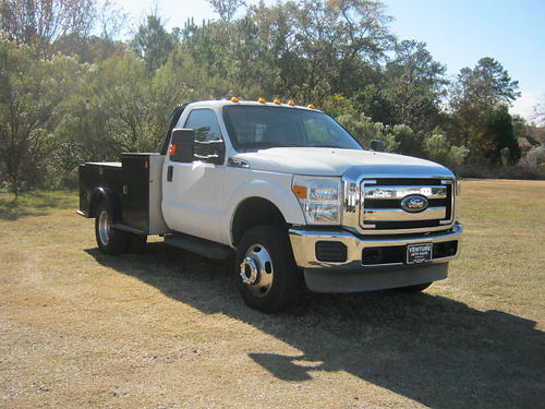 2011 FORD F350 XLT 4x4 Hauler CM Truck Body Toolboxes Gooseneck Hitch DRWH Lots of Extras 245