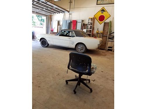 1966 FORD MUSTANG runs needs some upholstery and paint 5800 firm