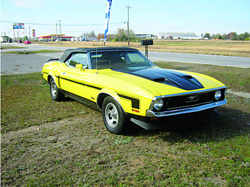 1971 FORD MUSTANG Convertible 302 Small Block Great Condition Needs A Little Restoration 15000