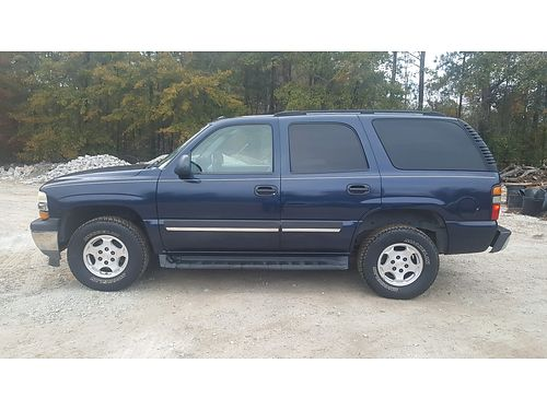 2005 CHEVY TAHOE ls sport v8 gas engine 4wd auto 260k miles very good condition 3995