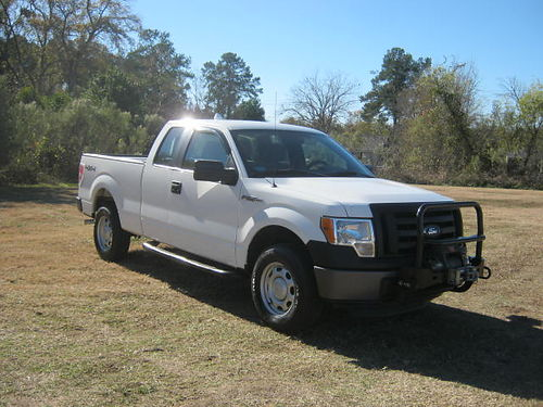 2012 FORD F150 XL 4x4 4dr Ext Cab 37 v6 2 Bed Boxes Warn Winch One Owner Well-Maintained O
