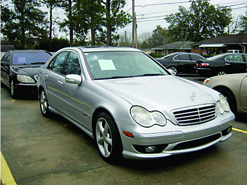 2006 MERCEDES BENZ C230 4dr Auto Leather Silver 7500 800-805-7984