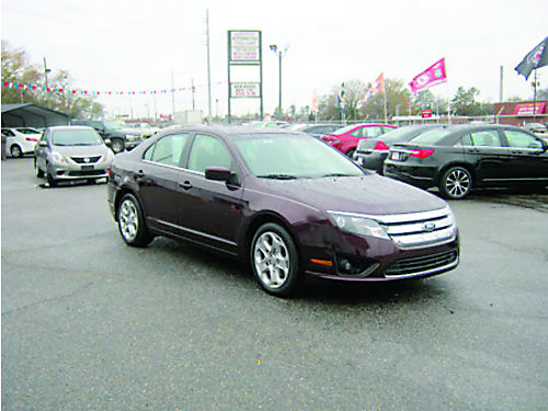 2011 FORD FUSION 4dr Auto Plum 10995 888-640-5901