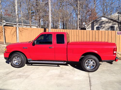 2008 FORD RANGER xlt ext cab loaded excellent running condition well maintained custom ordered