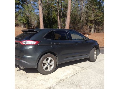 2015 FORD EDGE like new dark green in color 4cy eco boost asking 16200 for color photos search