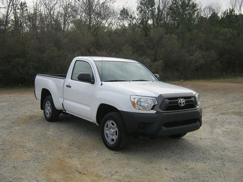 2014 TOYOTA TACOMA Reg Cab 59k Miles 4cyl Auto AC Bedliner One Owner Great on Gas Extra Cle
