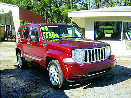 2008 JEEP LIBERTY 4dr Auto 134k Miles Call 803-663-4319
