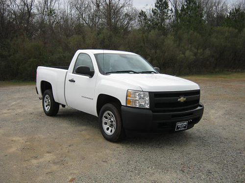 2009 CHEVY 1500 SILVERADO 2dr Reg Cab Shortbed 53 v8 124k Miles All Power One Owner Ready t