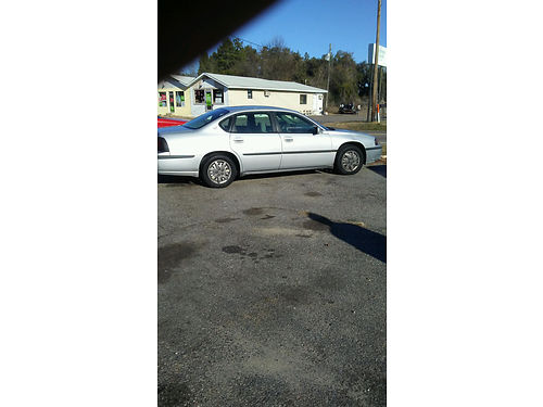 2004 Chevy Impala New Engine Clean Dependable 2400 obo 803-641-0620