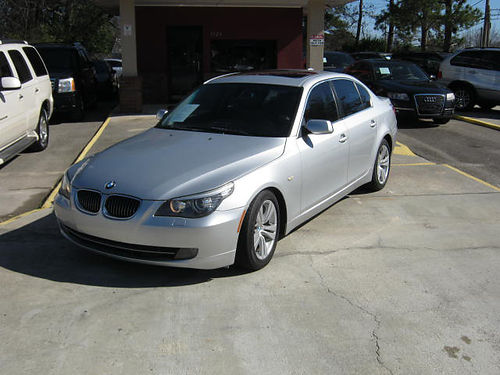 2009 BMW 528 4dr Auto Silver Leather Tinted Windows Low Miles 9900 800-805-7984