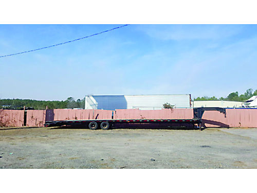 2000 45 Gooseneck Flatbed Trailer with dovetail on back 6500 for details Call Paul 706-799-3108
