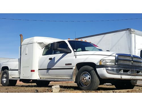1996 DODGE RAM 3500 Dually with Cummins Turbo Diesel New jasper transmission engine is weak 6500 C