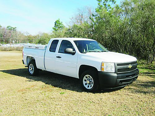 2009 CHEVY 1500 SILVERADO 4dr Ext Cab Shortbed All Power Nice Toolboxes Ready to Work Priced